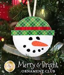 merry bright ornament club pre fused laser cut laser cutting