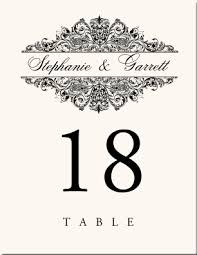 what size are table number cards wedding table number cards wedding card design black rococo floral