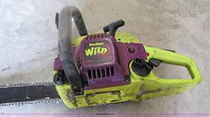 poulan wild thing 2375 chainsaw item 8528 sold may 25 c