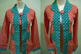 gambar model baju batik modern model desain gambar model baju batik wanita modern terbaru