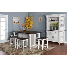 Kitchen Island And Dining Table by Sunny Designs Bourbon Dining Table With Kitchen Island Hayneedle