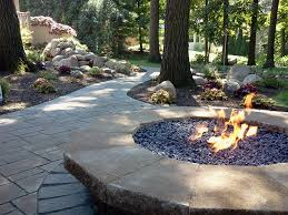 backyard design best backyard landscaping ideas with fire pit