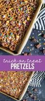 halloween treats trick or treat pretzels