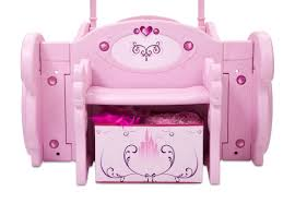 Princess Dog Bed With Canopy by Delta Children Disney Princess Carriage Twin Convertible Toddler