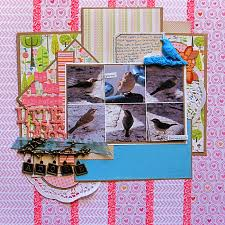scrapbooking ideas for using nature photos to tell a personal story