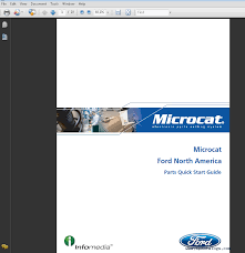 ford asia pacific microcat 2016 parts catalog spare parts catalog