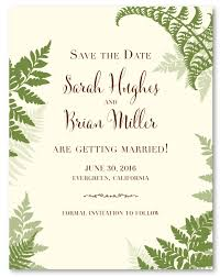 wedding announcement cards fern wedding announcement cards lovely fern 100 recycled