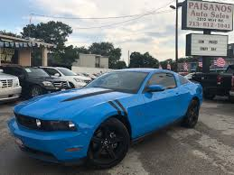 2010 ford mustang gt 2010 ford mustang gt coupe in houston tx 1zvbp8ch0a5146811