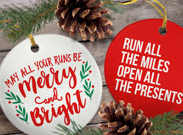 ornaments for a run