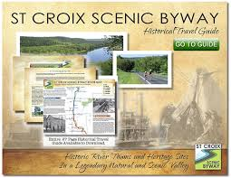 wisconsin scenic drives map st croix scenic byway follow the road to adventure