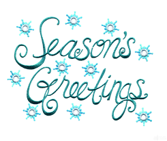bright seasons greetings embroidery design