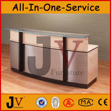 Reception Desk With Display Custom Made High Quality Glass Display Reception Desk Buy Glass