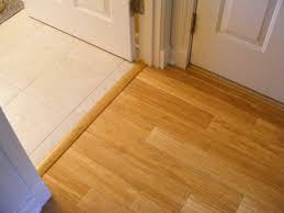 Laminate Flooring Transitions Hardwood Floor Transition To Tile Top Preferred Home Design