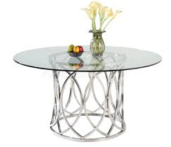 silver dining room table 5pc glass dining table u0026 4 lisa chairs by chintaly