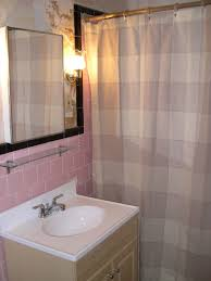 pink and brown bathroom ideas pink and grey bathroom as well as white transparent thick curtain