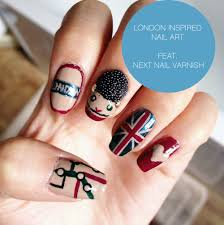 British Flag Nails Nail Design London U0026 Always In Fashion For All Occasions Nails Pix