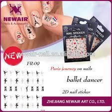 zhejiang newair designs paris ballet dancer nail stickers buy