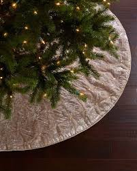 brown christmas tree skirt h8fxx sudha pennathur silver velvet christmas tree skirt crafty