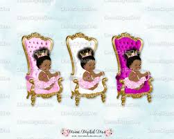 baby throne chair fuchsia white pink gold african american