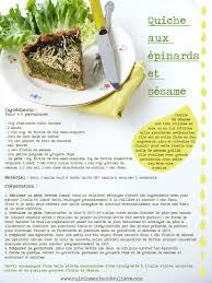 recette de cuisine en recette de la quiche aux épinards et sésame cuisine en bandoulière