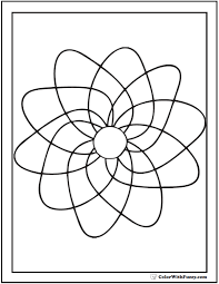 70 geometric coloring pages print customize