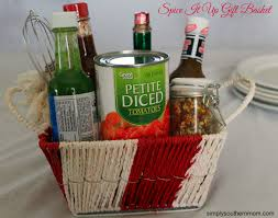 per gift basket spice it up diy s day gift basket simply southern