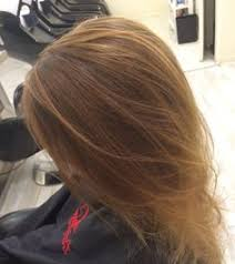 hand painted highlights golden blonde color specialist san diego