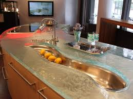 Kitchen Island Tops Kitchen Islands Kitchen Counter Designs Exquisite Glass Islands