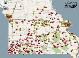 Map Of Missouri Cities Road Map Of Missouri Kenosha Map
