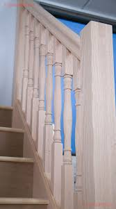 Oak Banister Oak Newel Posts Stair Banister Parts