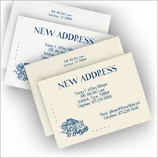 new address cards new address announcements