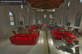 enzo ferrari museum take three virtual tours of ferrari museums in google street view