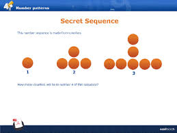 pattern and numbers sequences and number patterns lessons tes teach