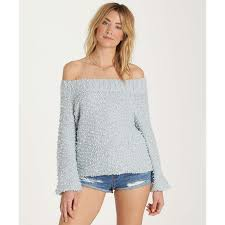 fur sweater furget me not sweater billabong us