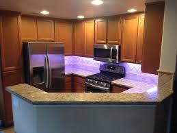 home depot kitchen cabinet lighting commercial electric 8 ft color changing led