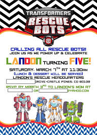 landon u0027s rescue bots 5th birthday project nursery