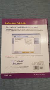 mymathlabplus integrated course sequence access code pearson