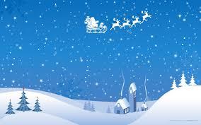 blue white christmas winter vector wallpaper