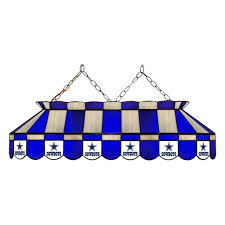 nfl dallas cowboys stained glass pool table light review all