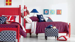 red and white bedrooms 20 bold bedrooms in blue red and white colors home design lover