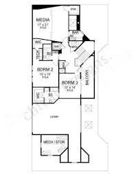 House Plans Contemporary by Montpellier Contemporary House Plans Narrow Floor Plans