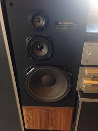 kenwood home theater powered subwoofer find more kenwood jl 797 180 watt speakers vintage and great