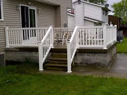 white vinyl backyard deck railing best backyard deck railing