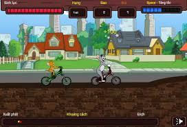 game dua xe dap tom va jerry choi game dua xe dap tom va jerry