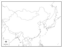 Asia Blank Map Blank Map Of Europe European Continent Countries Rivers Throughout