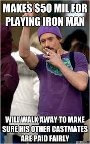 Robert Downey Jr Meme - good guy robert downey jr memes quickmeme