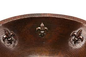 Hammered Copper Sink Reviews by Hammered Copper Bathroom Sink 18 Copper Sink Reviews 2017 Uncle