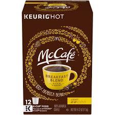 light roast k cups mccafe breakfast blend light roast k cup pods from food lion