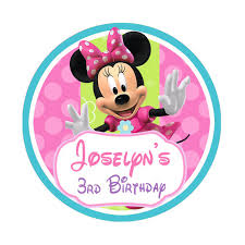 minnie s bowtique minnie mouse bowtique birthday stickers party favor
