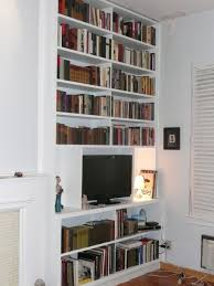 nyc custom built in fireplace bookcases bookshelves wall units nyc
